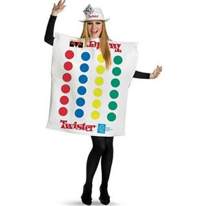 Twister Deluxe Retro Game Adult Costume