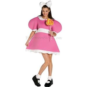 Girl Wind-Up Doll Adult Costume Funny