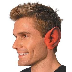 Red Pointed Ears for Devil or Demon