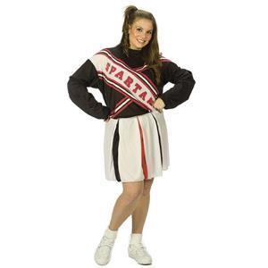 Saturday Night Live Female Spartan Cheerleader Plus Size Costume