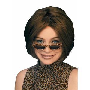 Brown 60's Style Georgie Girl Wig