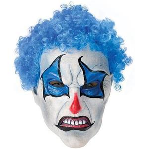 Psycho Blue Clown Mask