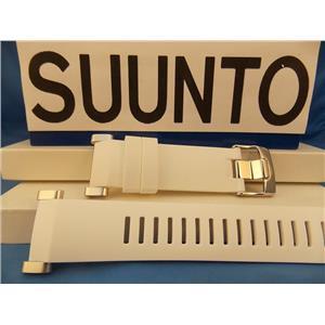 Suunto Watch Band Core White Strap Steel buckle / Hardware w/ Attaching T-Bars