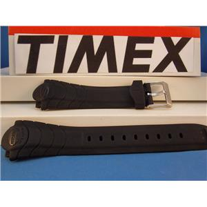 Timex Watch Band T51301 Reef Gear Black Resin Strap ReefGear