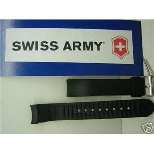 Swiss Army watch band Alliance Chrono 17mm curved ends