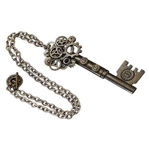 Elope Adult Antique Standard Large Key Steampunk Necklace