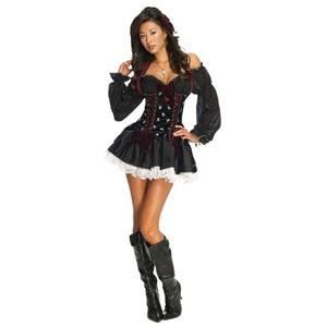 Playboy Sexy Swashbuckler Pirate Captain Adult Costume Small