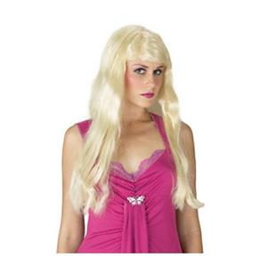 Long Wavy Blonde Hotel Heiress Sexy Womens Paris Wig