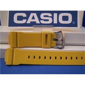 Casio Watch Band DW-5600 CS-9 Mustard Resin Strap. G-Shock Watchband
