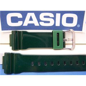 Casio Watch Band DW-6900 CC-3 Shiny Green G-Shock Watchband Strap