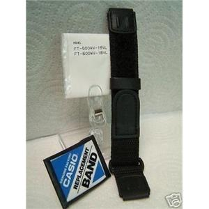 Casio watch band FT-500 NylonGrip 19mm High Quality Sport Band For 19mm Watch