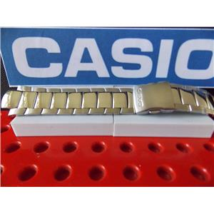 Casio Watch Band EFA-110 D Edifice Bracelet Silver Tone Stainless Steel w/ Pins