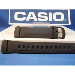 Casio watch band DB-37 16mm mens black Resin
