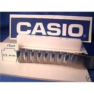 Casio Watch Band EF-500. Edifice All Steel Push Button Deployment Bracelet.