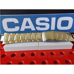 Casio Watch Band EFA-109 D Edifice Bracelet Two Tone Silver/Gold Stainless Steel