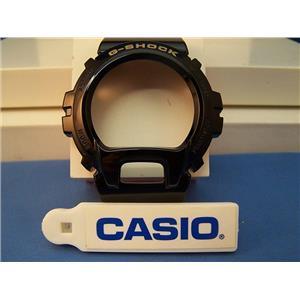 Casio Watch Parts DW-6900 CB-1 Bezel / Shell G-Shock Gloss black Gold Tone Letter