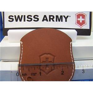 Swiss Army Watch Pouch Pocket Watch Pouch Leather Brown