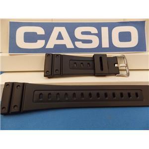 Casio watch band GW-5600 J-1 G-Shock Strap Black Resin G-Shock
