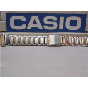 Casio Watch Band WS-200, WS-210 Bracelet 18mm X 24mm Steel Silver Tone