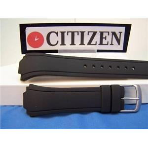 Citizen Watch Band BM8290 CaseBack # 4-k004438 Black Rubber Strap