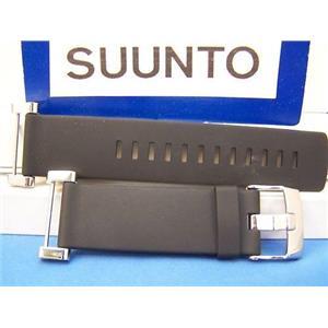 Suunto Watch Band Core Flat Black w/Attaching Pins/Lugs