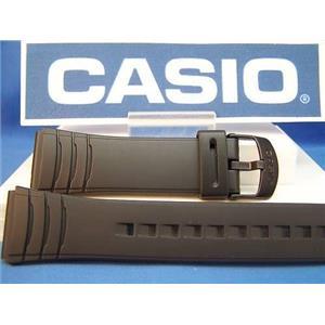 Casio Watch Band DBC-32. Data Bank Black Resin Strap