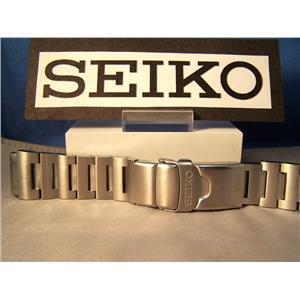 Seiko WatchBand SKX781 Orange Monster Scuba 20mm Bracelet w/PButton Buckle