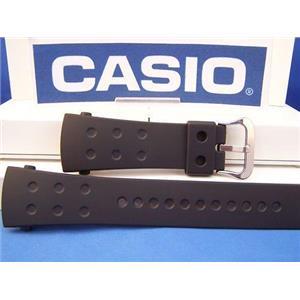 Casio Watch Band G-8000  Black Resin Strap G-Shock