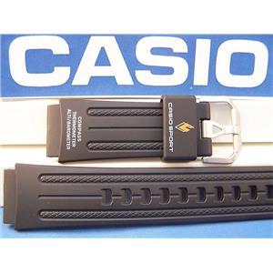 Casio Watch Band PRG-80, PAW-1100, PAG-80, PRW-1000. Pro Trek Black Rubber Strap