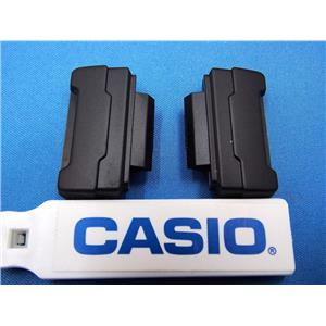 Casio Watch Parts DW-5600E,DW-6900 Loop Thru Lugs. Pair w/Spring Bars Black