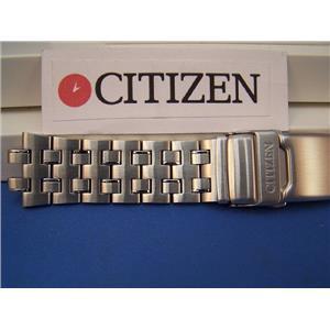 Citizen Watch Band Caliber 2100 Mod# AV0031 -59a Stainless Solid Linked Bracelet