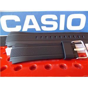 Casio Watch Band EF-552 Black Rubber Edifice Watchband / Strap