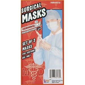 Doctor Surgical Mask Set of 3