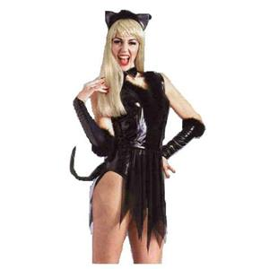 Sexy Kitty Cat Adult Costume Size Small 6-10
