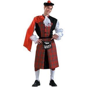 What's Under the Kilt? Funny Adult Scottish Irish Costume