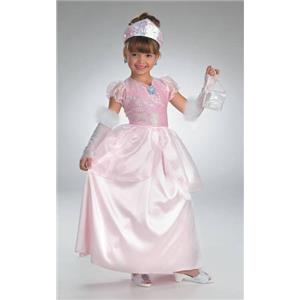 Lil' Gems: Pink Diamond Princess Child Costume Size Medium 7-8