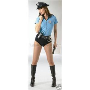 Traffic Cop Sexy Adult Costume HALF PRICE LARGE