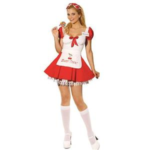 Sweet Treat Candy Girl Sexy Ladies Adult Costume Small 2-6