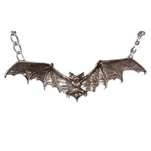 Gothic Vampire Bat Costume Necklace