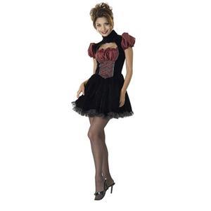Women's French Maid Sexy Adult Costume Dress