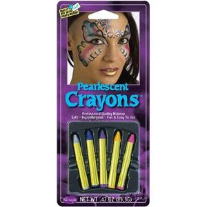 Pearlescent Makeup Color Glitter Crayons