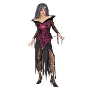 Creeping Beauty Adult Costume Sleeping Beauty Zombie Size Large
