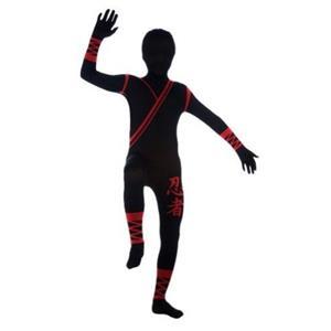 Ninja 2nd Skin Suit Child Costume Size Large