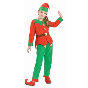 Simply Elf Child Santa Christmas Helper Unisex Costume