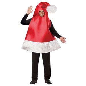 Santa Hat Adult Funny Christmas Costume