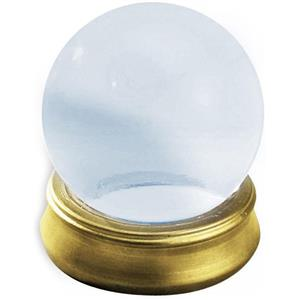 4'' Diameter Glass Crystal Ball with Stand