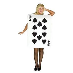 Ten of Spades Deluxe Card Costume