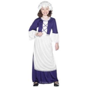 Colonial Girl Child Costume Size Small