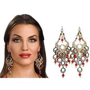 Bollywood Jeweled Earrings