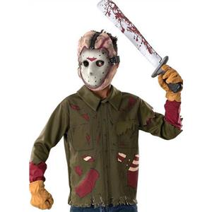 Friday the 13th Jason Voorhees Costume Size Teen Small 42665
